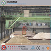Stable Low Noise Double Beam Overhead Grab Crane For Factory Price