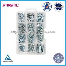 Wenzhou Factory ZY0154 320PCS screw assortment