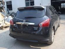 car spoiler Nissan Tiida 11 models Qi tail fin tail primer Tiida ABS material modification car spoiler