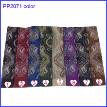 Fashion design dot and flower printing scarf