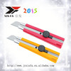 Twist lock plastic safety paper cutter knife XF-1889