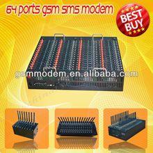 Hot selling wavecom module 64 sim cards 2g gprs usb modem edge usb dongle