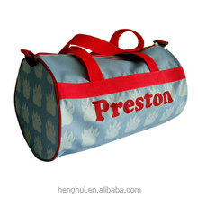 Top hot personalized duffle gym bag,custom size duffle bag wholesale