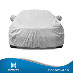 2015 amreica top seller car cover oxford coated silver folding car covers