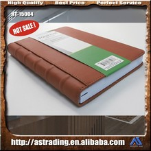 Factory price leather cheque book cover with high quality