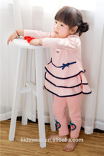2015 newest Korean fashion children frock design for 2 to 6 years old girls