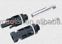 TUV approved Waterproof solar MC4 panel connector