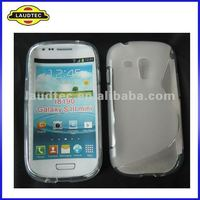 Laudtec Soft Skin S-line TPU Gel Case Cover for Samsung Galaxy S3 Mini i8910