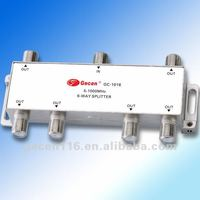 5-1000MHz 6-way Splitter GC-1016/Indoor Splitter/CATV Splitter