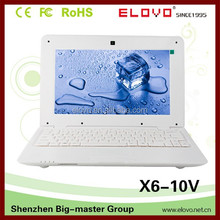 1GB/4GB storage Android netbook computer Shenzhen OEM factory Android notebook dual hdd ports wifi and ethernet netbook