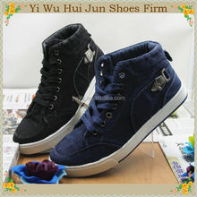 Alloy Buckle Rope Cowboy Fashion Sports Canvas Shoes