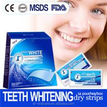 alibaba express innovative teeth whitening dry strips better effect than crest whitestrips