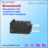safety control good quality black 3 pin electrical snap switch