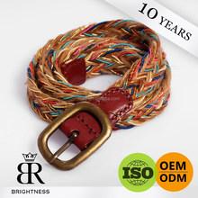 Manufacturer custom woven cotton belt H1-80001