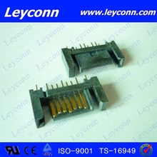 Factory supply 7 Pins Straight Solder B Type SATA Connector