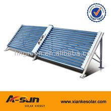 No presurizado colector solar de doble cara tipo para industrail solar proyecto made in Haining fabricación