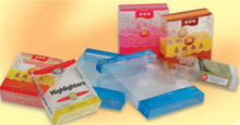 custom folding plastic clear boxes and packaging for accessories