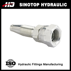 Hydraulic hose fittings / adapters