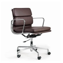 Low back modern conference chair / Leather living room chair / eames conference chair