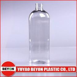 250ml oval skin cream container plastic bottle