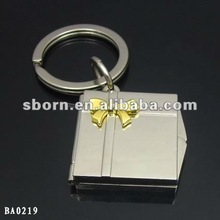 Famous brand for best friend love photo frame keychain