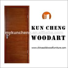 sólido de madera de madera del oscilación de la puerta de entrada/de madera puerta de la puerta de los precios