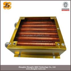 marine SS shell & tube compact refrigerator evaporator fan motorr