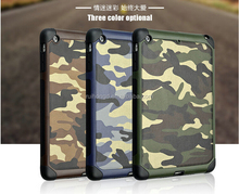 Fashion Army Camouflage Hybrid Cover Case For ipad mini 2 3