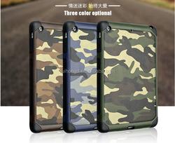 Fashion Army Camouflage Hybrid Cover Case For ipad mini 2 3