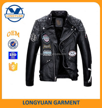 American air force pilot style motorcycle fashion high quality man leather jacket