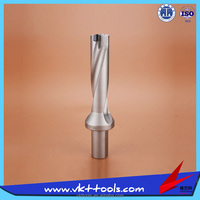 CNC High Speed 4D Indexable U Drill with SPMG or WCMX Inserts