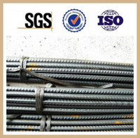 buildign material 6m,12m prime quality HRB400 reinforcing steel rebar for construction hot rolled steel rebar from in china
