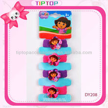 Hair elastic with lovely charms
