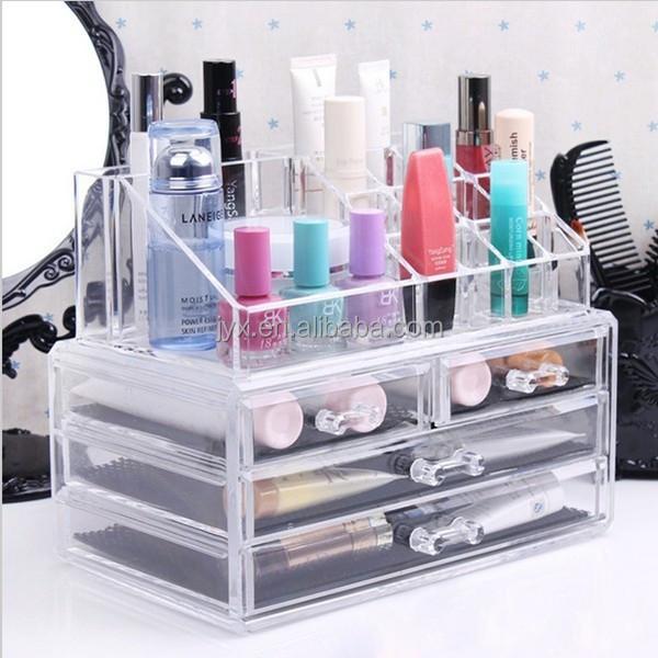 maquillage acrylique bo te de rangement pour opi gros. Black Bedroom Furniture Sets. Home Design Ideas
