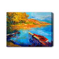Modern paintings living room mediterranean sea paintings