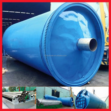 high tech Pyrolysis Equipment with spray pipes cooling for tire oil