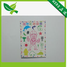 PP Plastic drawing stencils for children DIY painting