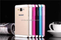 New 2015! Acrylic Back Cover Aluminum Bumper Metal Case For Samsung Galaxy A5