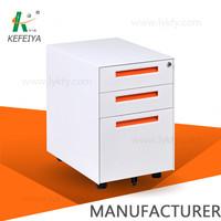 metal mobile pedestal office filing cabinet