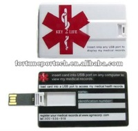 USB memory plain usb card stick