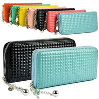 New Elegant Women Wallet Purse Colorful Clutch Zip Case Lady's Long Handbag