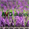 Lavender artificial grass for balcony decoration