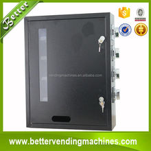 Coin/Bill Operated Small Wall Mounted Vending Machine for cigarette/condom