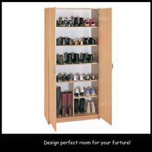 Cheap New Designs Wood Models Ikea 100 Pair Wooden Jordan Shoe Rack