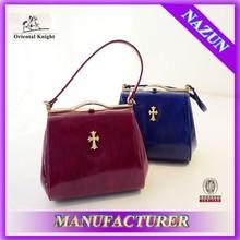 europa para proveedores lindo bolso de fiesta las niñas patente colorido bolso de cuero de fábrica