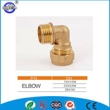Manufaturer direct selling brass elbow 90