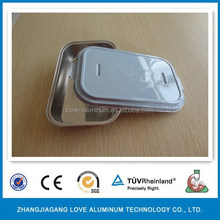 Food Grade Hot Sale Recyclable Aluminium Disposable Trays