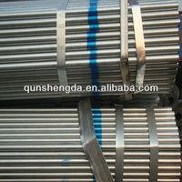 furniture galvanized steel pipe