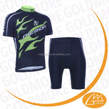 GOLDMORE1 2015 New design cycling clothing cheap china shot sleeve sets ,Short Sleeve Custom cycling clothing with bib shorts