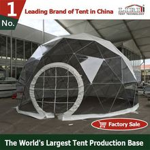 big dome shaped geodesic tent or marquee for weddings